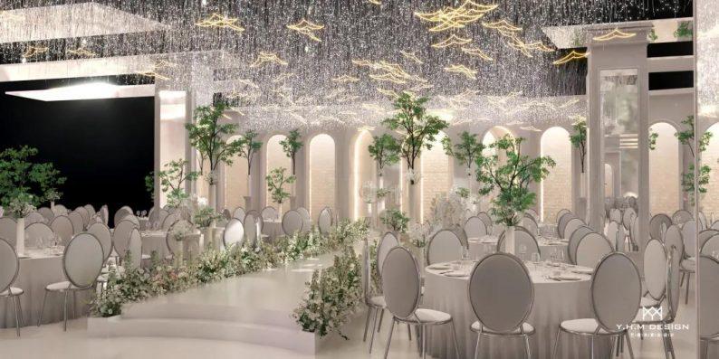 婚礼堂发布:超8800方!宿松首家百万级奢华婚礼堂  第11张