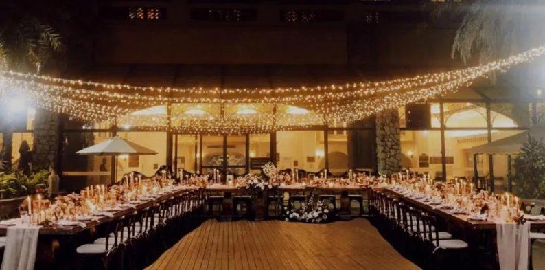 婚礼堂发布:半山秘境中的婚礼伊甸园  第9张