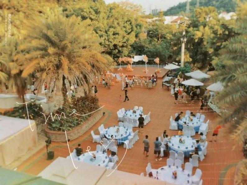婚礼堂发布:半山秘境中的婚礼伊甸园  第11张