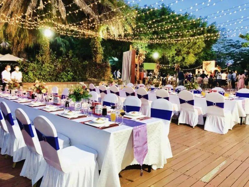 婚礼堂发布:半山秘境中的婚礼伊甸园  第14张