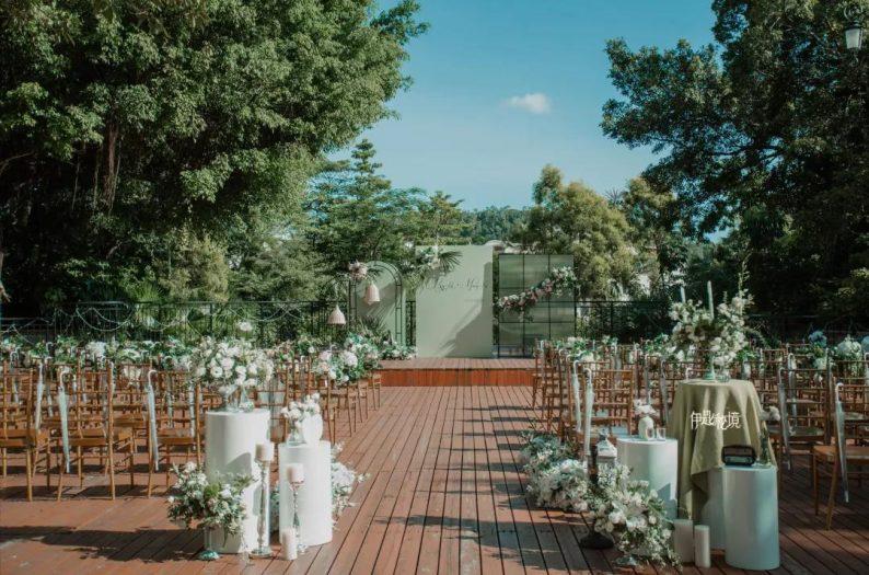 婚礼堂发布:半山秘境中的婚礼伊甸园  第16张