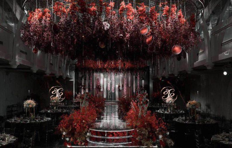 婚礼堂发布:6大主题宴会厅!格莱美杭州湾店,独家室内花园
