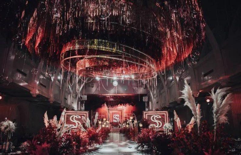 婚礼堂发布:6大主题宴会厅!格莱美杭州湾店,独家室内花园  第5张
