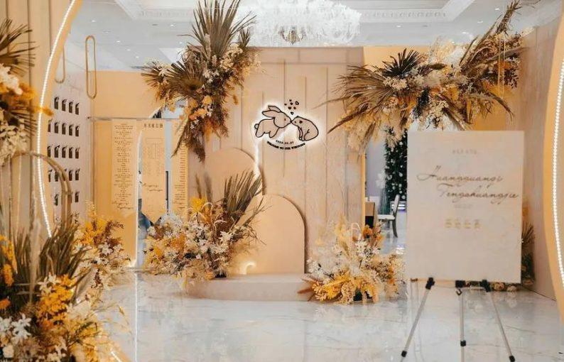婚礼堂发布:6大主题宴会厅!格莱美杭州湾店,独家室内花园  第11张