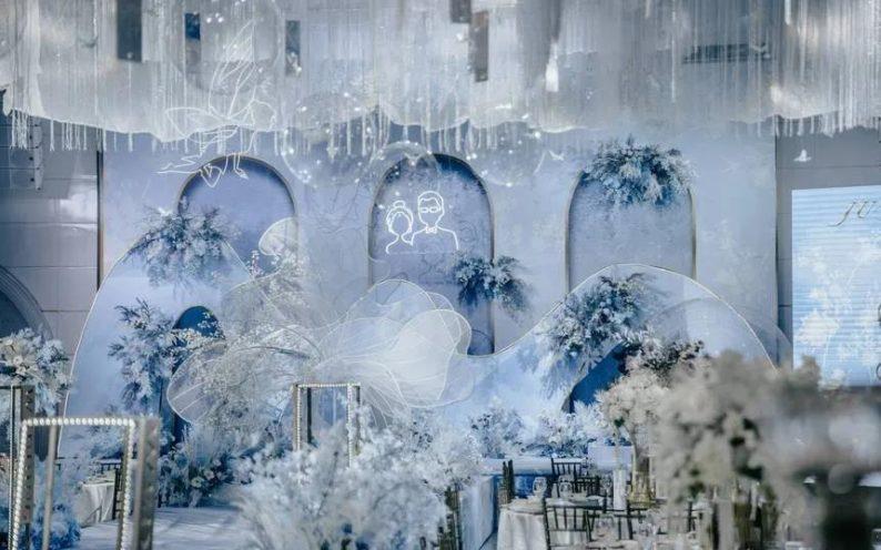 婚礼堂发布:6大主题宴会厅!格莱美杭州湾店,独家室内花园  第13张