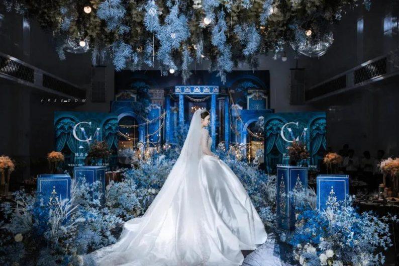 婚礼堂发布:6大主题宴会厅!格莱美杭州湾店,独家室内花园  第19张