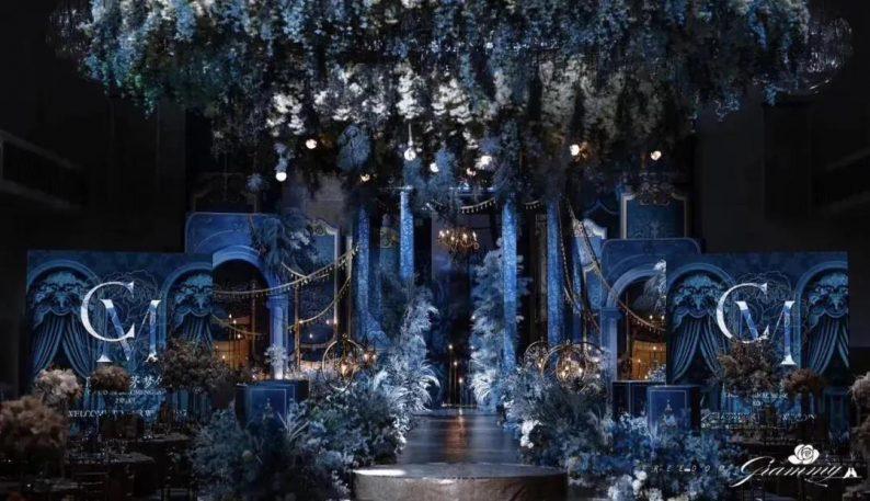 婚礼堂发布:6大主题宴会厅!格莱美杭州湾店,独家室内花园  第17张