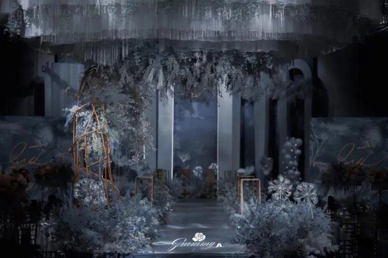 婚礼堂发布:6大主题宴会厅!格莱美杭州湾店,独家室内花园  第18张