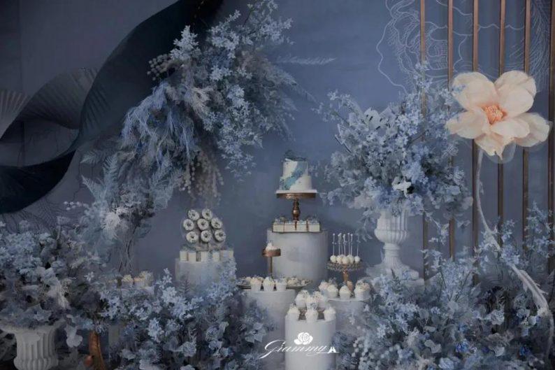 婚礼堂发布:6大主题宴会厅!格莱美杭州湾店,独家室内花园  第15张