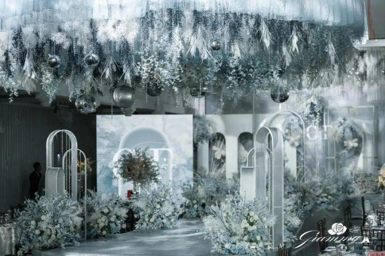 婚礼堂发布:6大主题宴会厅!格莱美杭州湾店,独家室内花园  第20张