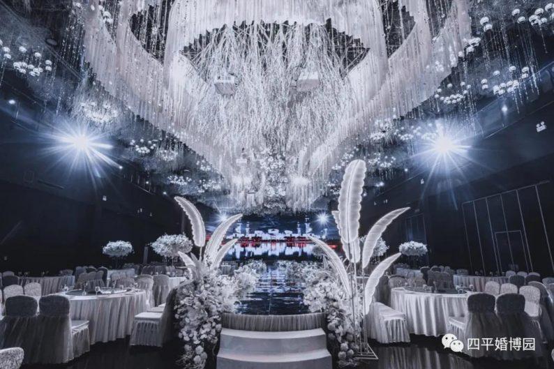 婚礼堂发布:占地1.7万方!9大宴会厅,五线城市婚嫁新地标  第4张