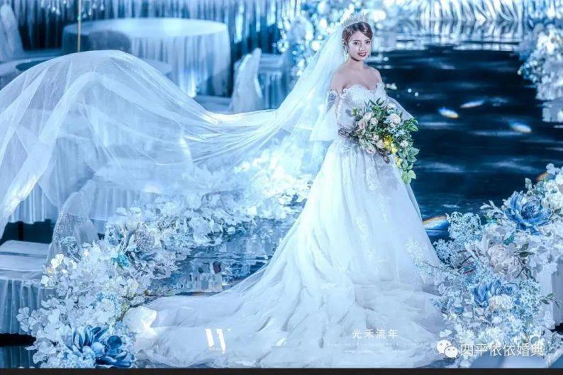 婚礼堂发布:占地1.7万方!9大宴会厅,五线城市婚嫁新地标  第6张