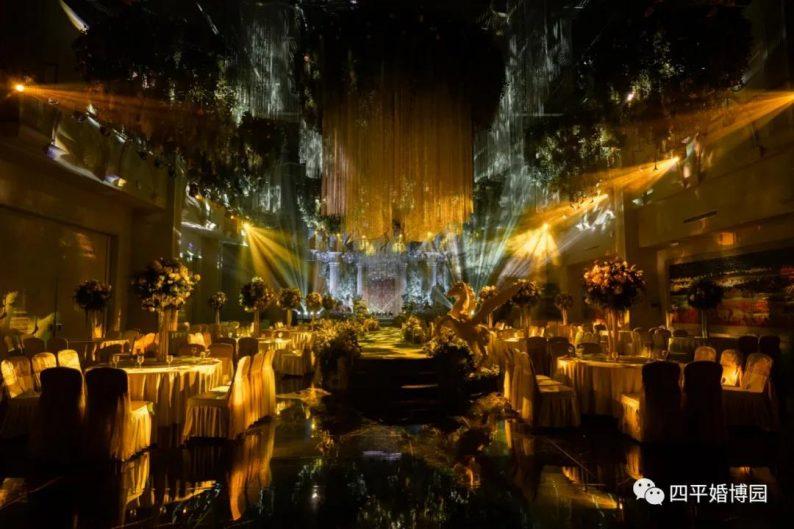 婚礼堂发布:占地1.7万方!9大宴会厅,五线城市婚嫁新地标  第7张