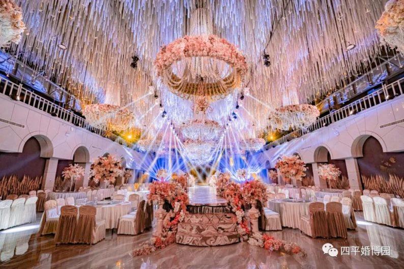婚礼堂发布:占地1.7万方!9大宴会厅,五线城市婚嫁新地标  第11张