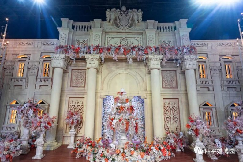 婚礼堂发布:占地1.7万方!9大宴会厅,五线城市婚嫁新地标  第12张