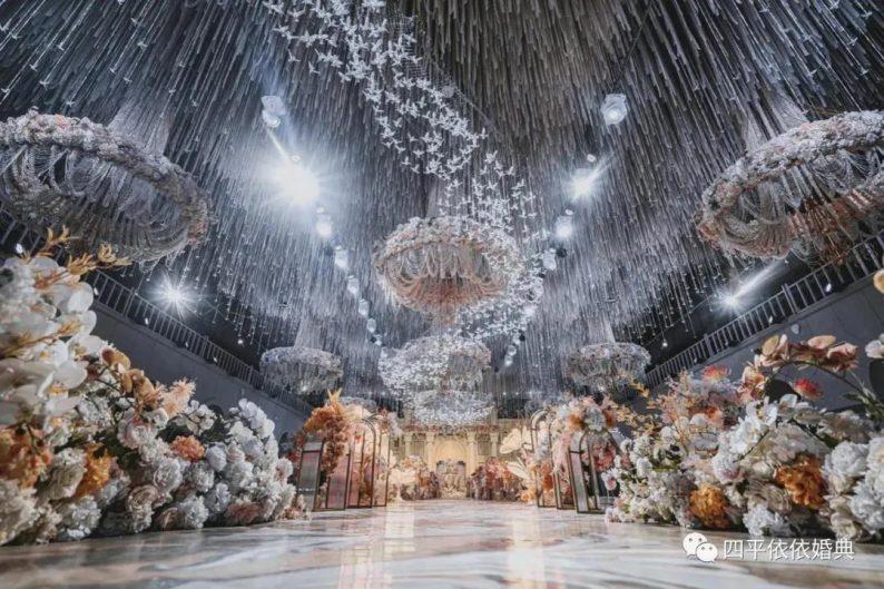 婚礼堂发布:占地1.7万方!9大宴会厅,五线城市婚嫁新地标  第13张
