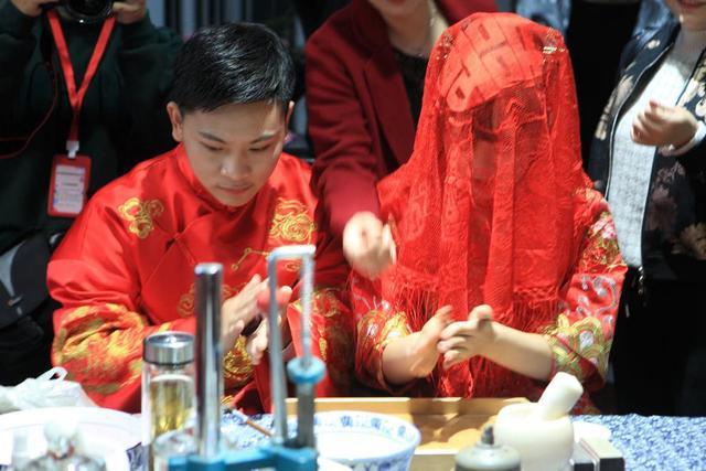 连续七年!个园盐商体验式集体婚礼成靓丽风景线  第2张