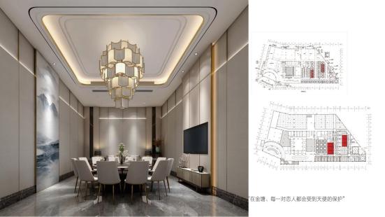 婚礼堂发布:总面积3.2万平!金塘胜宴打造地标性宴会酒店  第5张