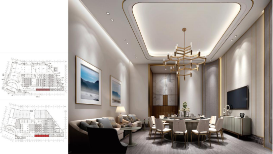 婚礼堂发布:总面积3.2万平!金塘胜宴打造地标性宴会酒店  第6张