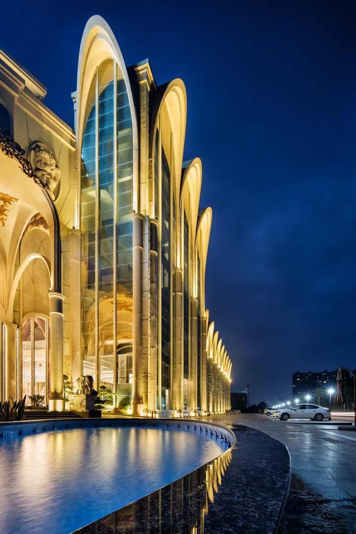 婚礼堂发布:总面积3.2万平!金塘胜宴打造地标性宴会酒店  第14张