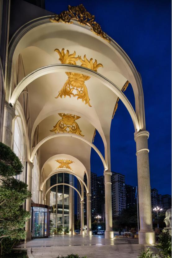 婚礼堂发布:总面积3.2万平!金塘胜宴打造地标性宴会酒店  第15张