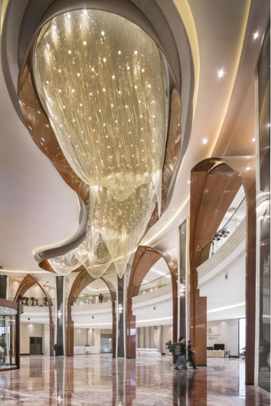 婚礼堂发布:总面积3.2万平!金塘胜宴打造地标性宴会酒店  第16张