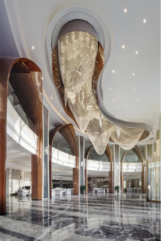 婚礼堂发布:总面积3.2万平!金塘胜宴打造地标性宴会酒店  第18张