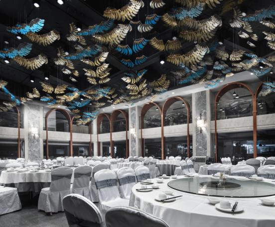 婚礼堂发布:总面积3.2万平!金塘胜宴打造地标性宴会酒店  第21张