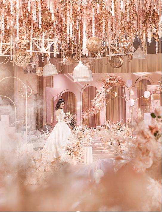 婚礼堂发布:总面积3.2万平!金塘胜宴打造地标性宴会酒店  第26张
