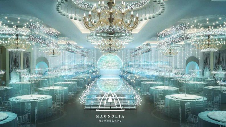 婚礼堂发布:赖梓愈设计,曼格纳4000平艺术空间全新亮相!  第3张