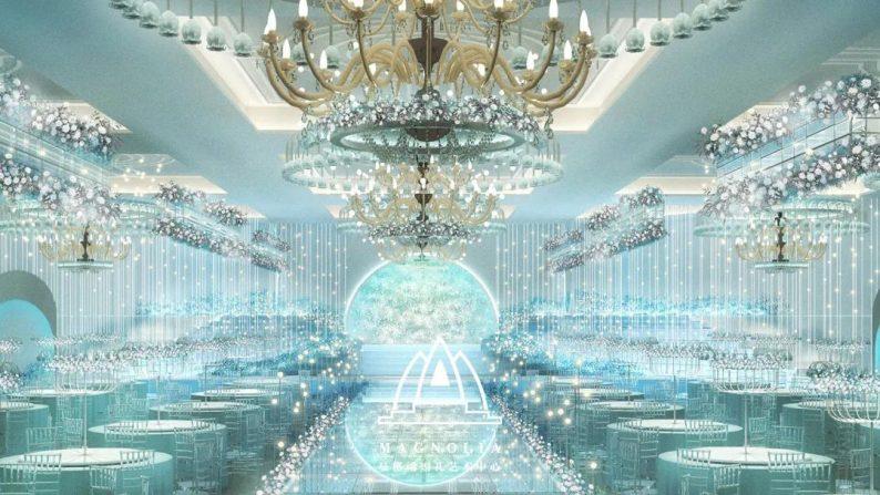 婚礼堂发布:赖梓愈设计,曼格纳4000平艺术空间全新亮相!  第5张