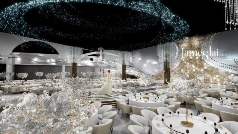 """婚礼堂发布:""""宴会+公园+街区"""",斥资3千万、6大主题厅即将启幕  第6张"""