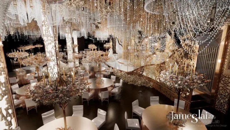 """婚礼堂发布:""""宴会+公园+街区"""",斥资3千万、6大主题厅即将启幕  第9张"""