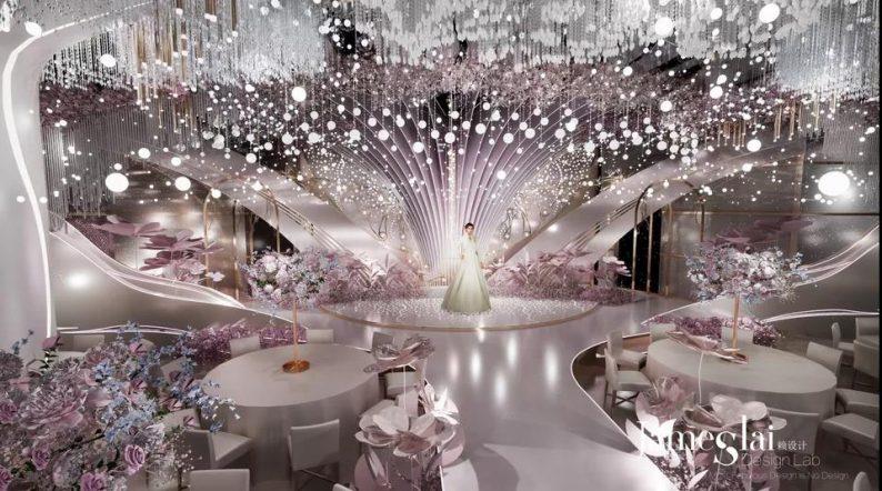 """婚礼堂发布:""""宴会+公园+街区"""",斥资3千万、6大主题厅即将启幕  第13张"""