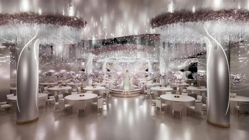 """婚礼堂发布:""""宴会+公园+街区"""",斥资3千万、6大主题厅即将启幕  第15张"""
