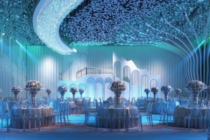 婚礼堂发布:斥资过亿!11个主题厅,又一艘宴会巨舰即将起航  第7张
