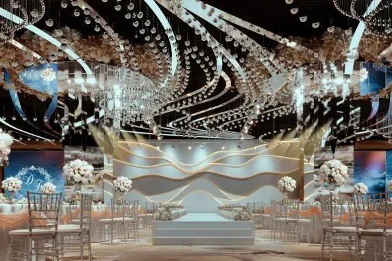 婚礼堂发布:斥资过亿!11个主题厅,又一艘宴会巨舰即将起航  第10张