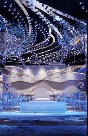 婚礼堂发布:斥资过亿!11个主题厅,又一艘宴会巨舰即将起航  第11张