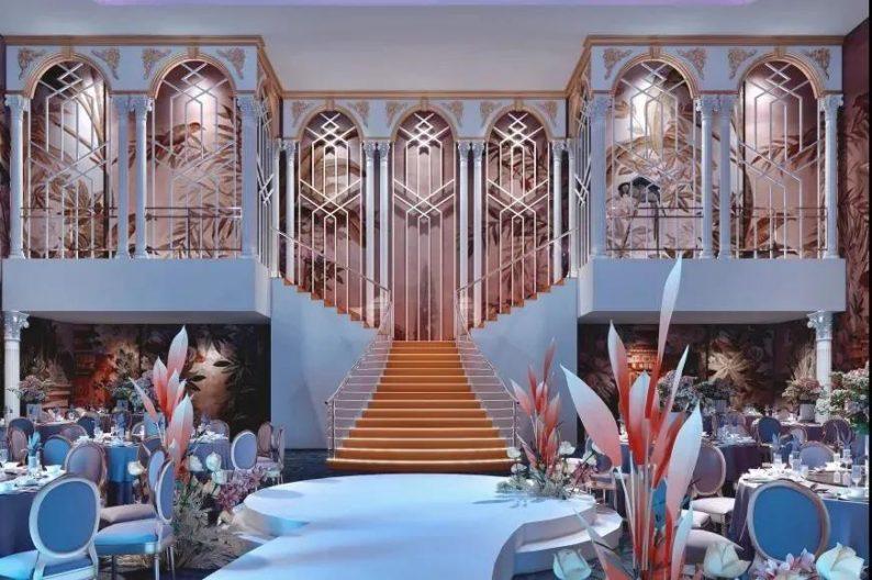 婚礼堂发布:斥资过亿!11个主题厅,又一艘宴会巨舰即将起航  第13张