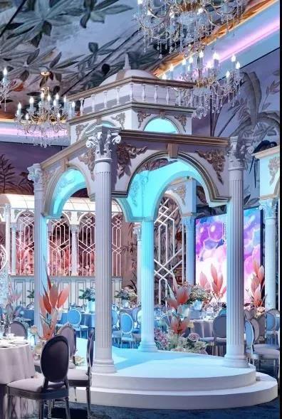 婚礼堂发布:斥资过亿!11个主题厅,又一艘宴会巨舰即将起航  第14张
