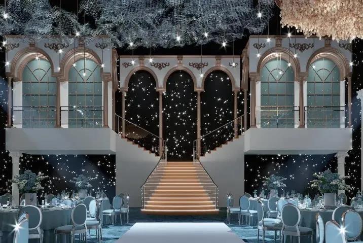婚礼堂发布:斥资过亿!11个主题厅,又一艘宴会巨舰即将起航  第16张