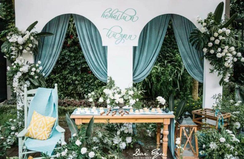 绝美小众婚礼合集,99%的新娘都会喜欢~  第17张