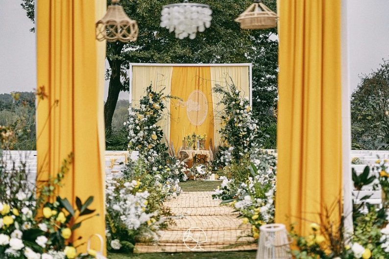 绝美小众婚礼合集,99%的新娘都会喜欢~  第20张