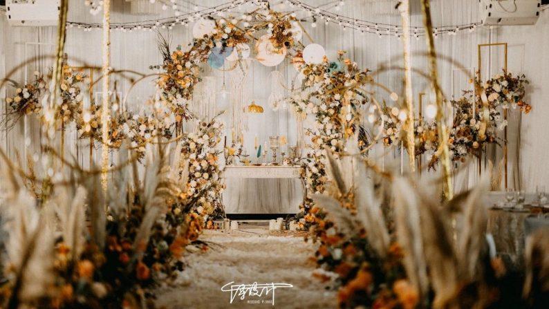 绝美小众婚礼合集,99%的新娘都会喜欢~  第49张
