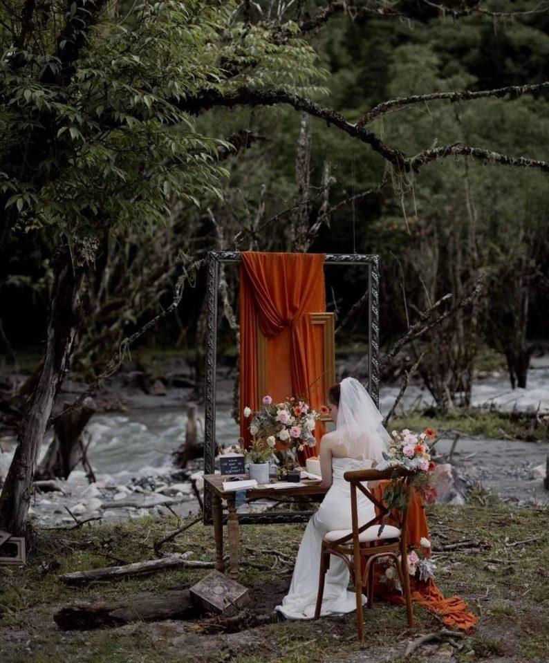 绝美小众婚礼合集,99%的新娘都会喜欢~  第65张