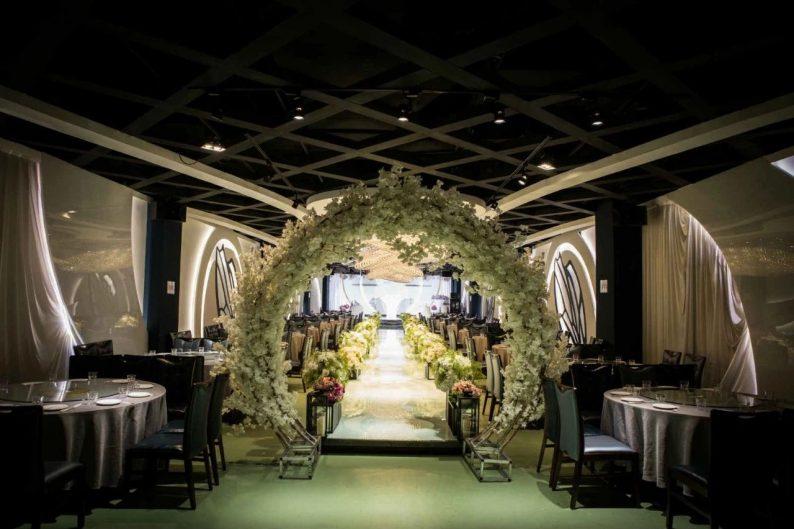 婚礼堂发布:6000平!4大主题宴会厅,浓郁韩式婚礼风  第4张