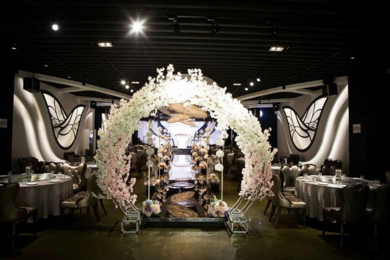 婚礼堂发布:6000平!4大主题宴会厅,浓郁韩式婚礼风  第6张