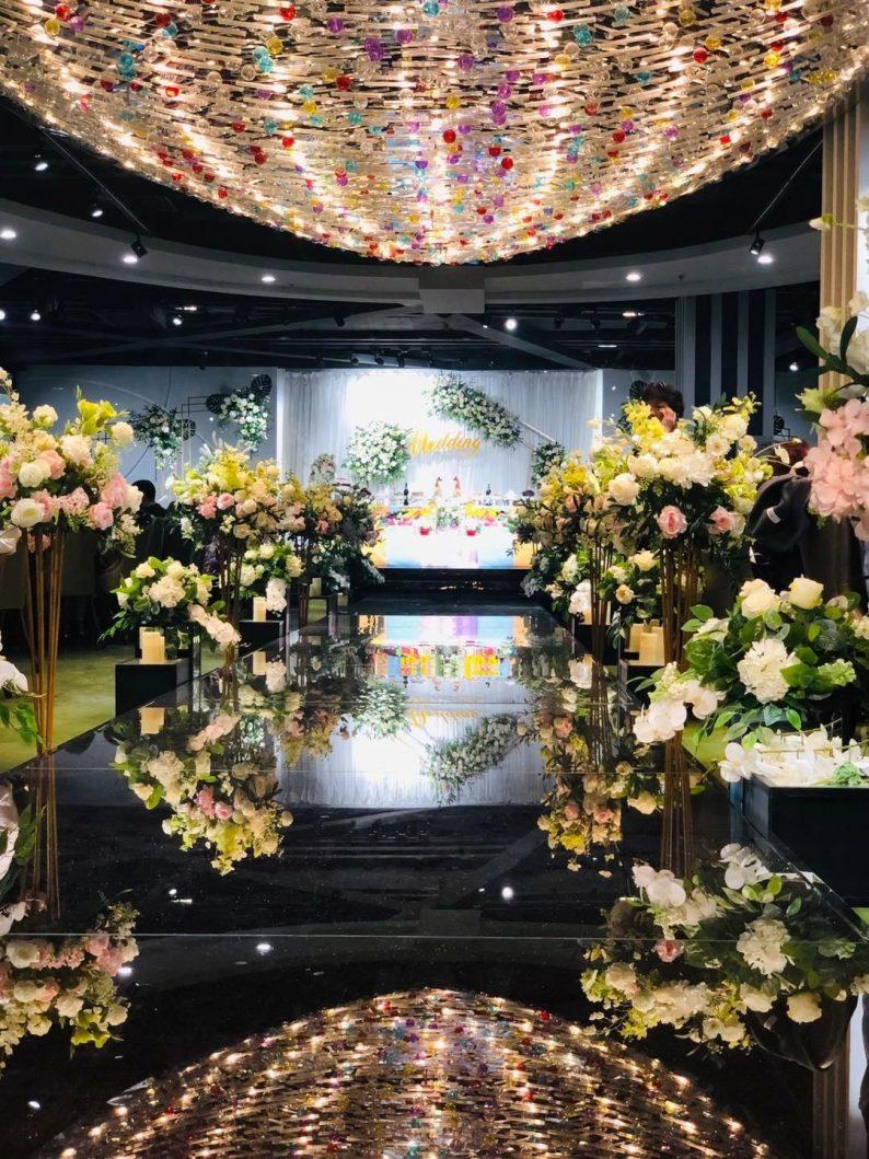 婚礼堂发布:6000平!4大主题宴会厅,浓郁韩式婚礼风  第14张