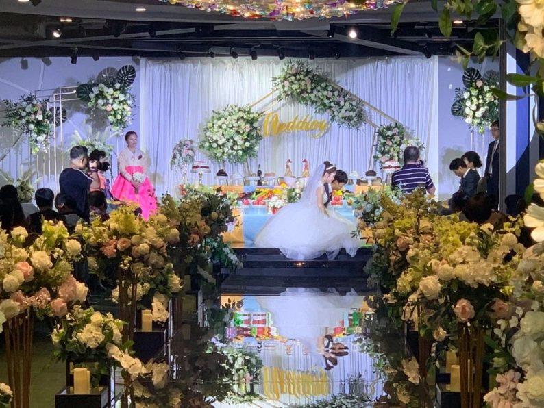 婚礼堂发布:6000平!4大主题宴会厅,浓郁韩式婚礼风  第15张
