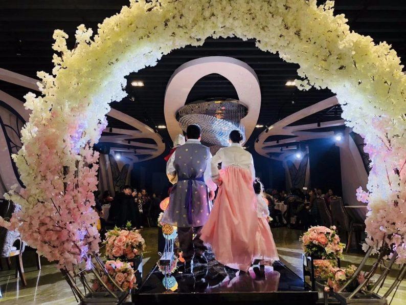 婚礼堂发布:6000平!4大主题宴会厅,浓郁韩式婚礼风  第16张